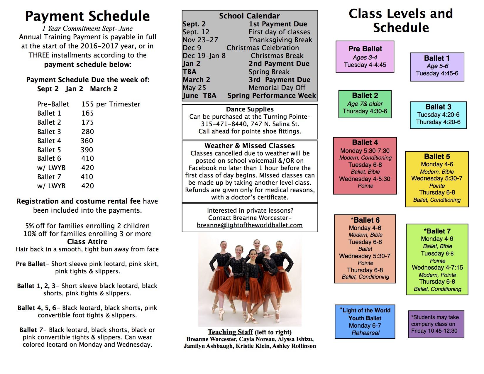 16-17 School Brochure
